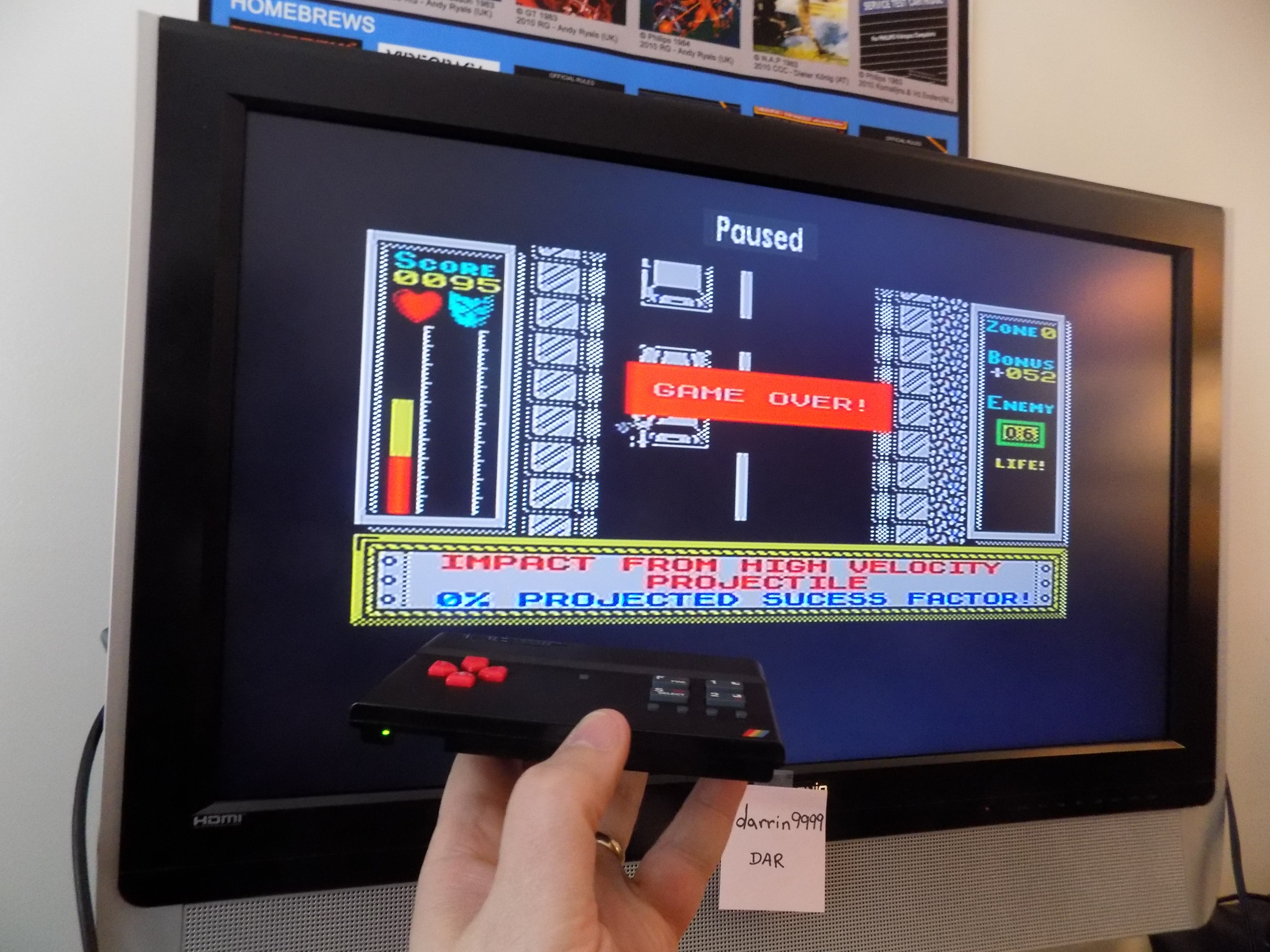 darrin9999: Stainless Steel [Easy Peesy] (ZX Spectrum Emulated) 95 points on 2017-02-26 22:17:20