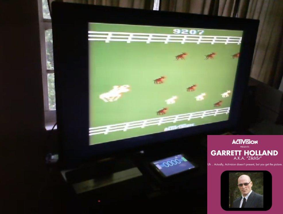 ZilchSr: Stampede (Atari 2600 Expert/A) 9,207 points on 2021-01-02 20:36:01