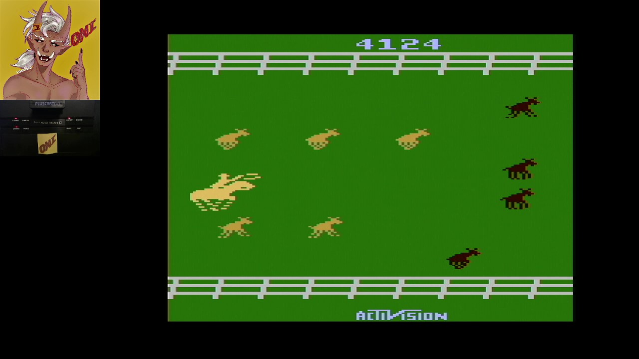OniDensetsu: Stampede (Atari 2600 Expert/A) 4,124 points on 2021-02-23 17:49:13