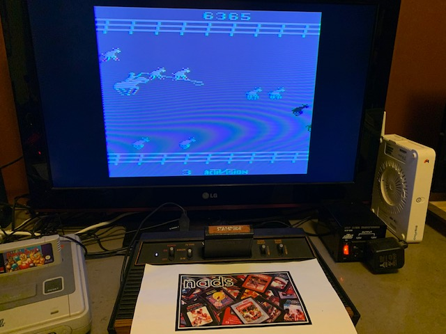 nads: Stampede (Atari 2600 Novice/B) 36,365 points on 2020-11-24 13:02:14