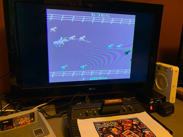 nads: Stampede (Atari 2600 Novice/B) 36,365 points on 2020-12-26 04:33:15