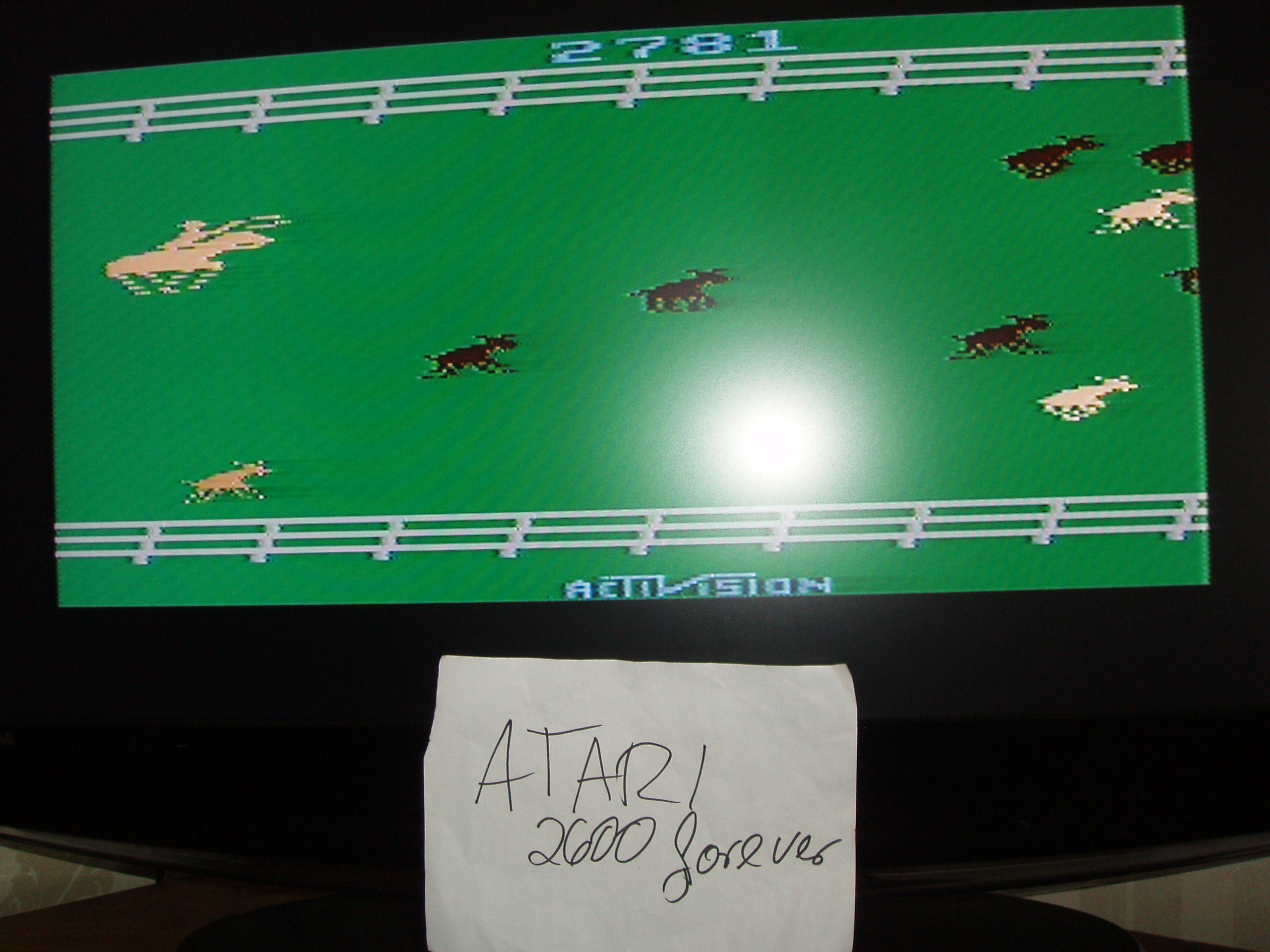 atari2600forever: Stampede (Atari 2600 Novice/B) 2,781 points on 2018-05-28 03:05:02