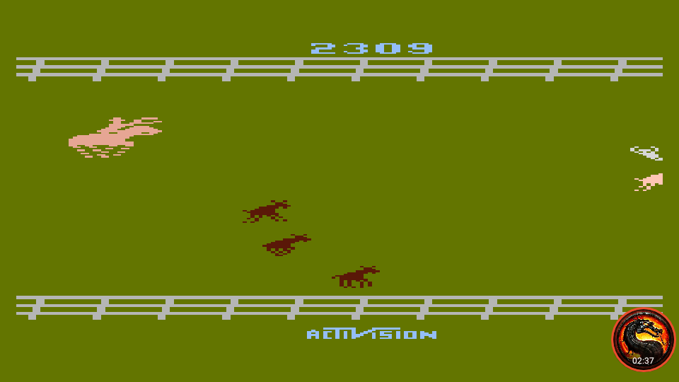 omargeddon: Stampede [Game 1] (Atari 400/800/XL/XE Emulated) 2,309 points on 2020-02-17 22:40:17