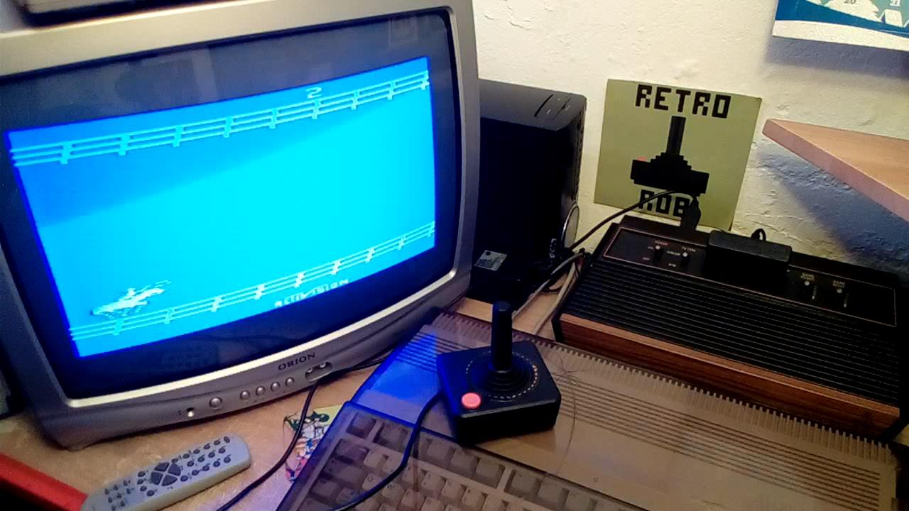 RetroRob: Stampede: Game 2 (Atari 2600 Novice/B) 1,624 points on 2019-06-12 14:45:24