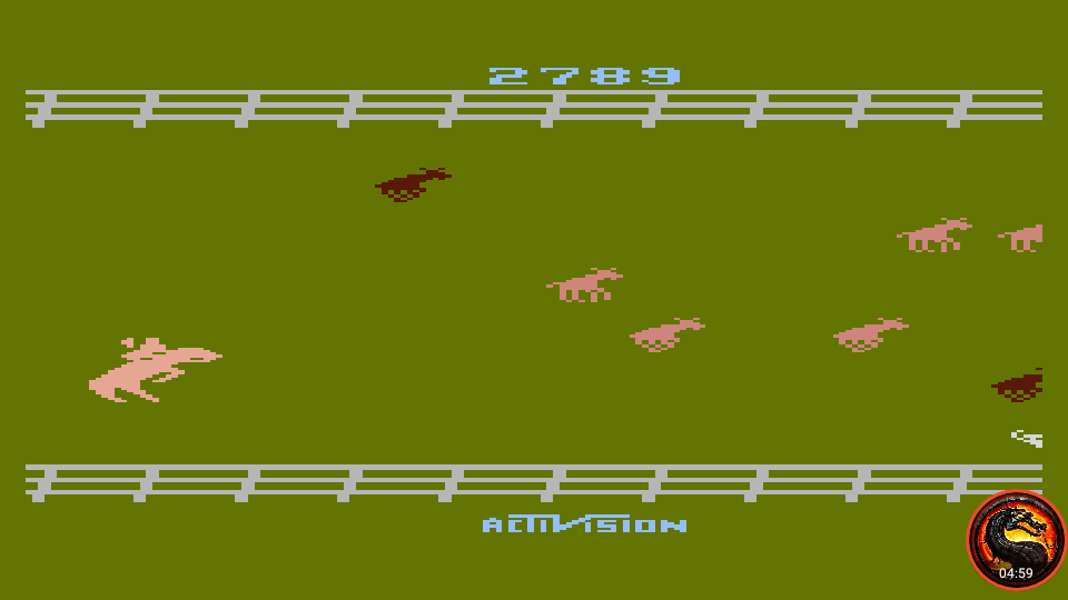 omargeddon: Stampede [Game 3] (Atari 400/800/XL/XE Emulated) 2,789 points on 2020-02-20 17:16:43