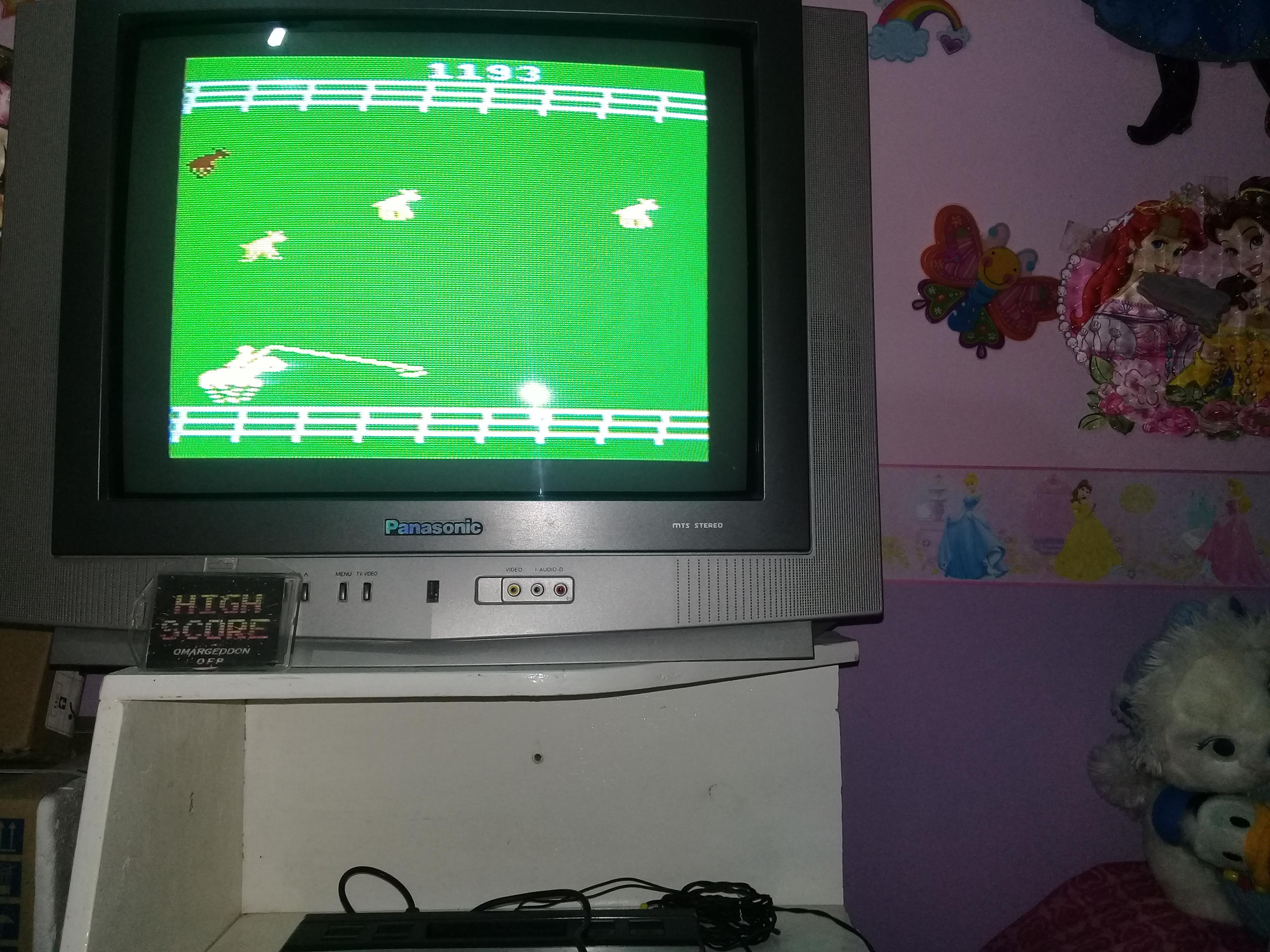 omargeddon: Stampede: Game 4 (Atari 2600 Novice/B) 1,193 points on 2019-03-20 21:07:59