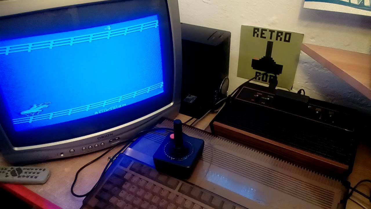 RetroRob: Stampede: Game 4 (Atari 2600 Novice/B) 3,767 points on 2019-06-25 10:52:29