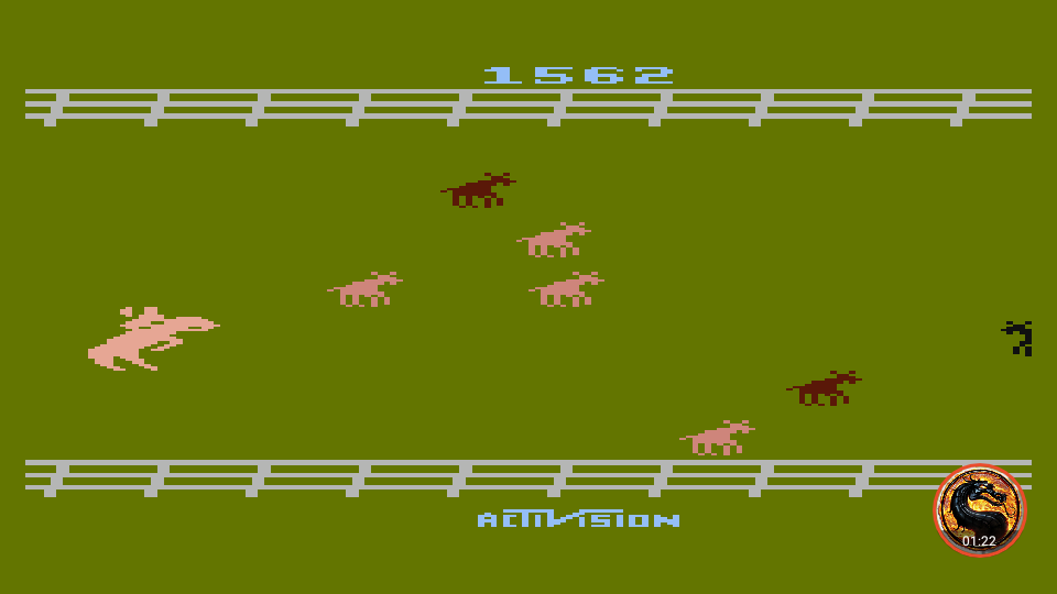 omargeddon: Stampede [Game 4] (Atari 400/800/XL/XE Emulated) 1,562 points on 2019-06-09 19:17:51