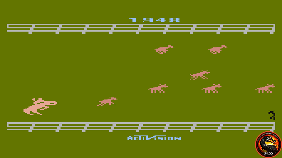 omargeddon: Stampede [Game 4] (Atari 400/800/XL/XE Emulated) 1,948 points on 2020-02-20 17:23:50
