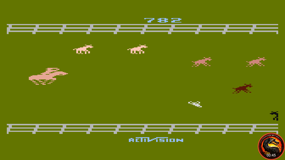 omargeddon: Stampede [Game 5] (Atari 400/800/XL/XE Emulated) 782 points on 2020-02-18 23:46:36