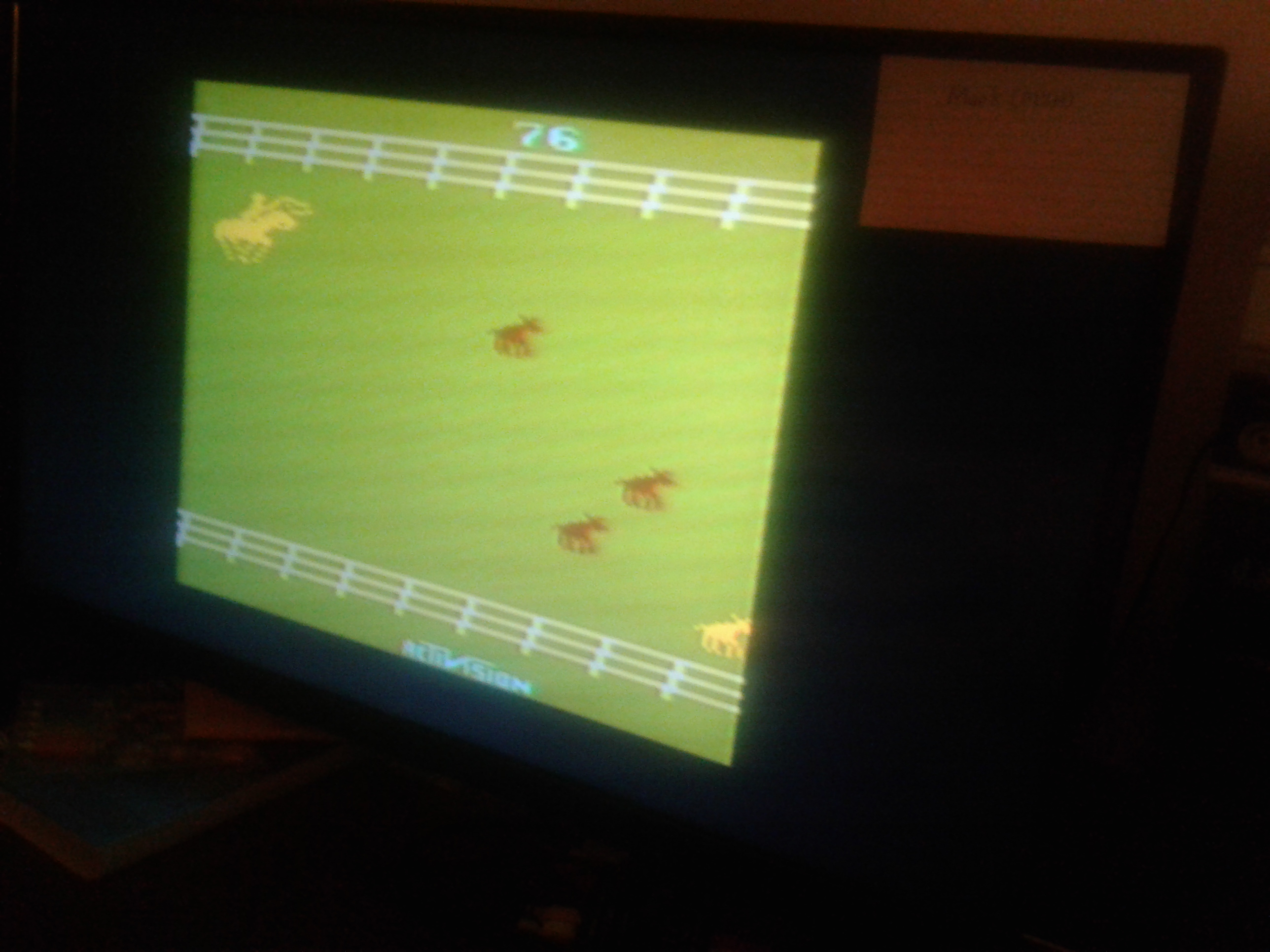 Mark: Stampede: Game 7 (Atari 2600 Expert/A) 76 points on 2019-02-19 00:29:44