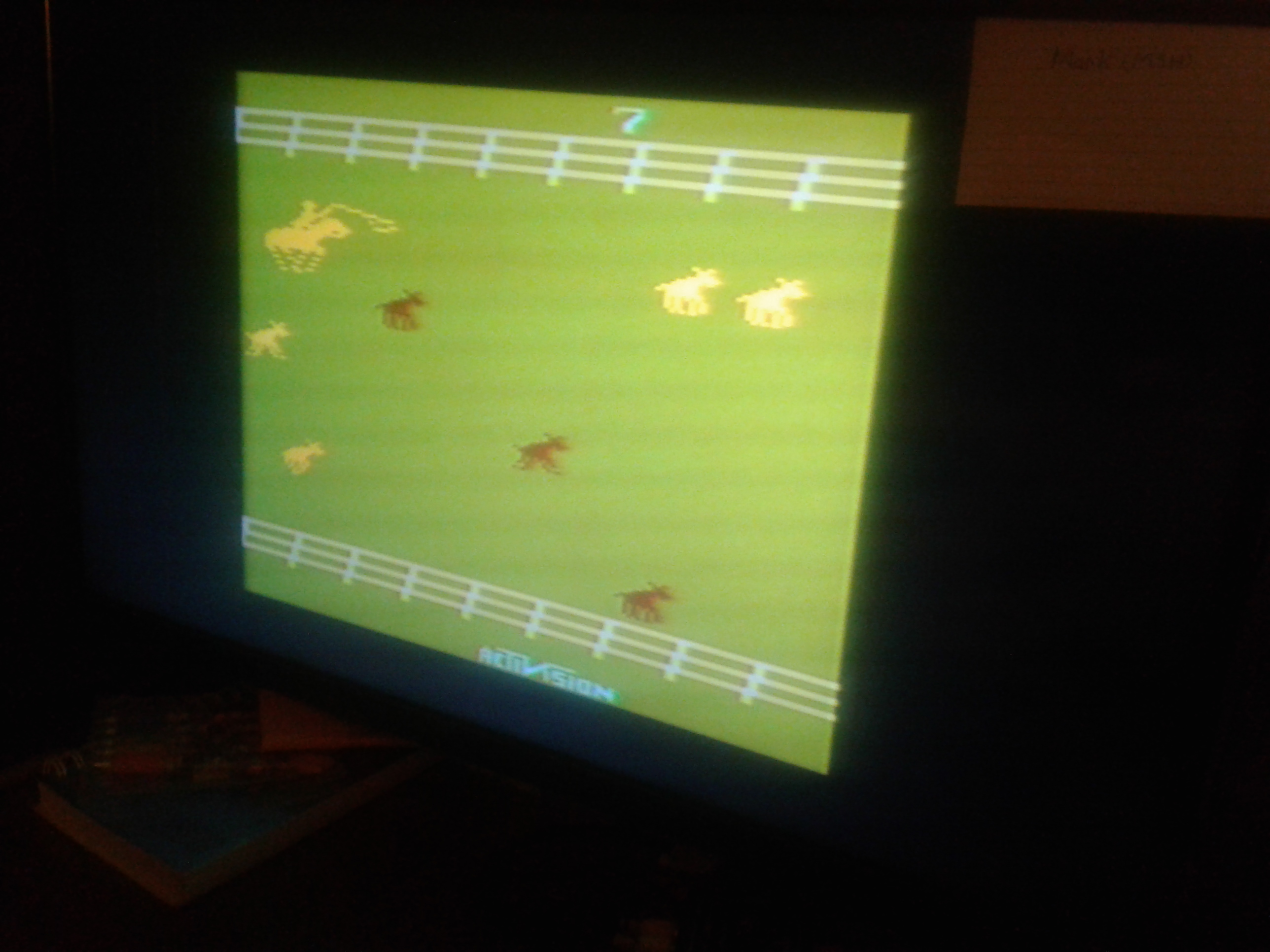 Mark: Stampede: Game 7 (Atari 2600 Novice/B) 158 points on 2019-02-19 00:27:06