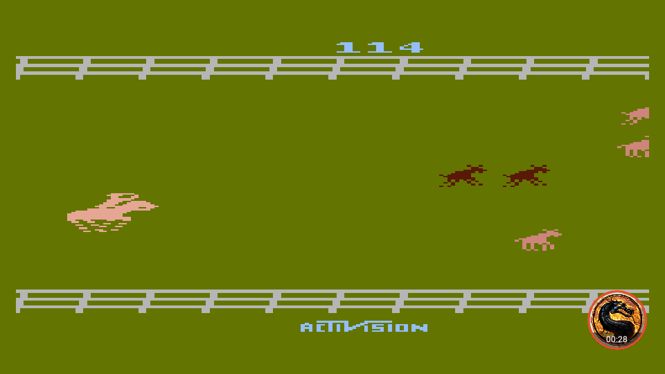 omargeddon: Stampede [Game 7] (Atari 400/800/XL/XE Emulated) 114 points on 2019-06-09 19:19:46