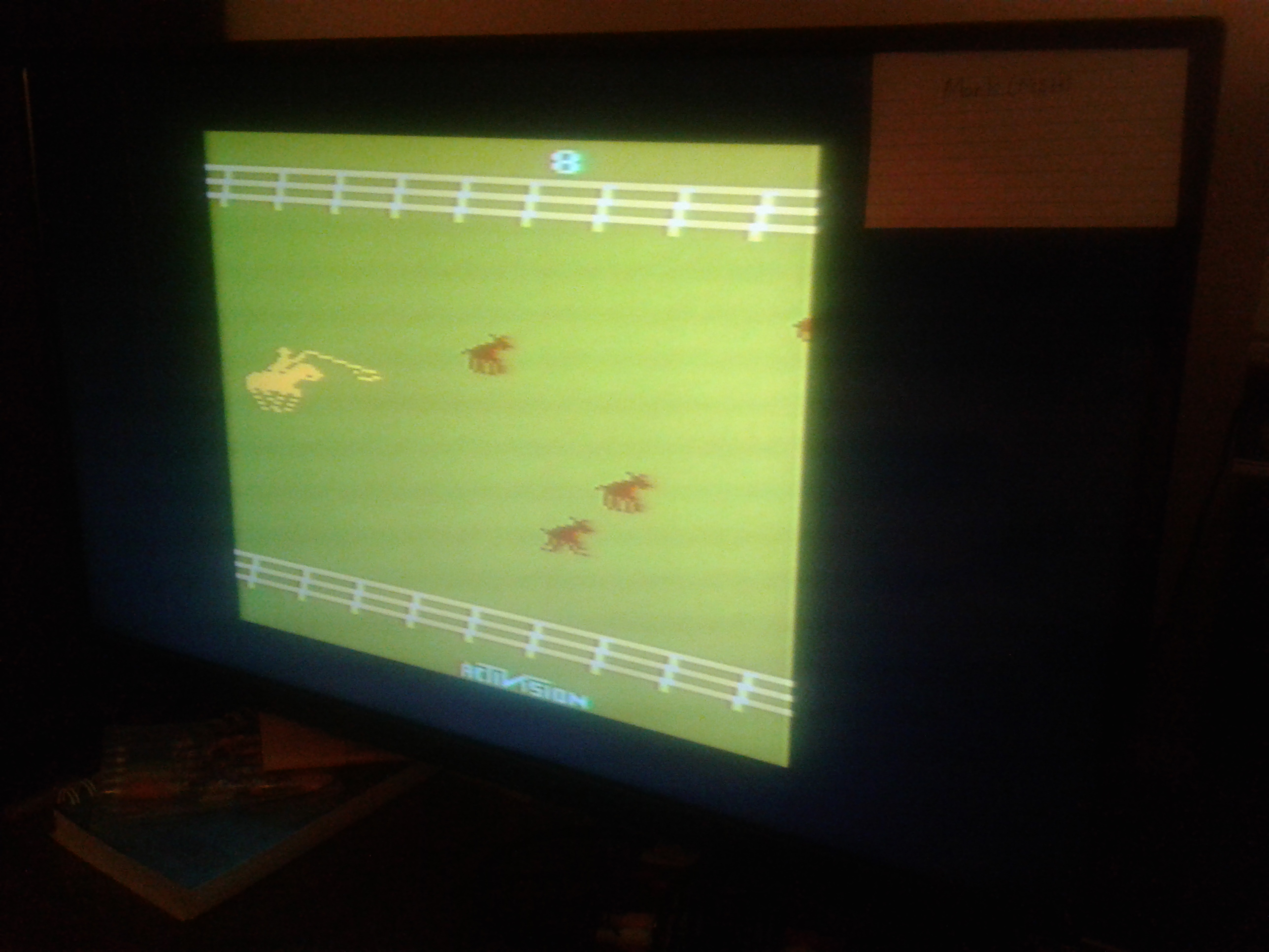Mark: Stampede: Game 8 (Atari 2600 Novice/B) 201 points on 2019-02-19 00:32:56