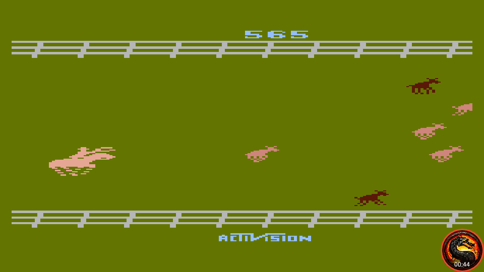 omargeddon: Stampede [Game 8] (Atari 400/800/XL/XE Emulated) 565 points on 2020-06-27 21:41:17