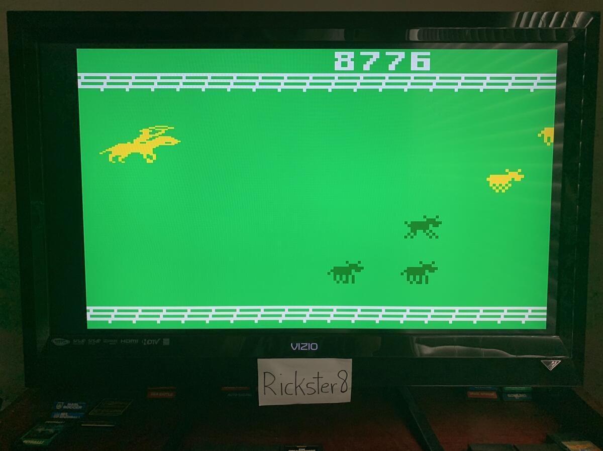 Rickster8: Stampede: Select 1 (Intellivision Emulated) 8,776 points on 2020-11-22 15:40:11