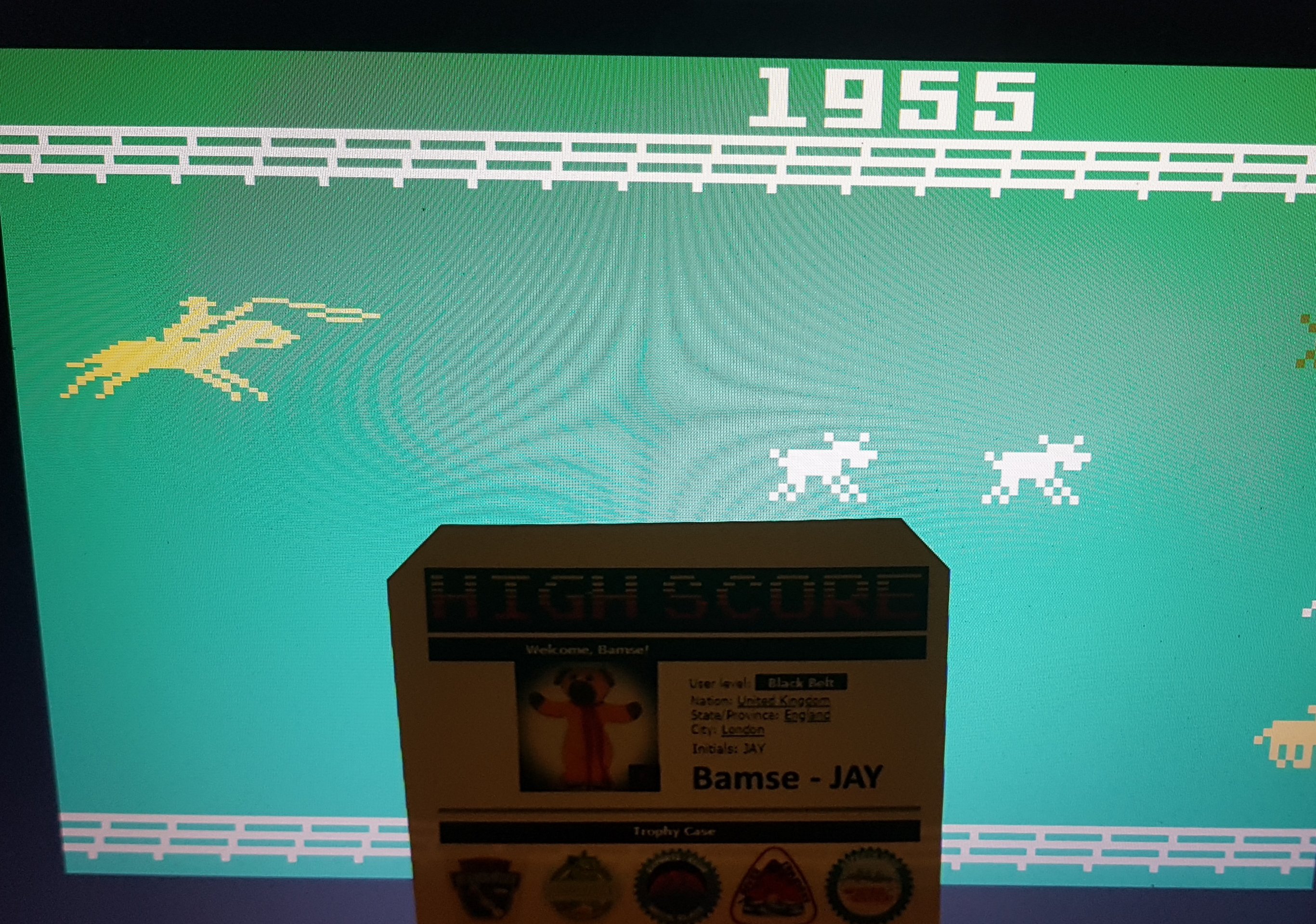 Bamse: Stampede: Select 1 (Intellivision Emulated) 1,955 points on 2019-09-12 04:09:25