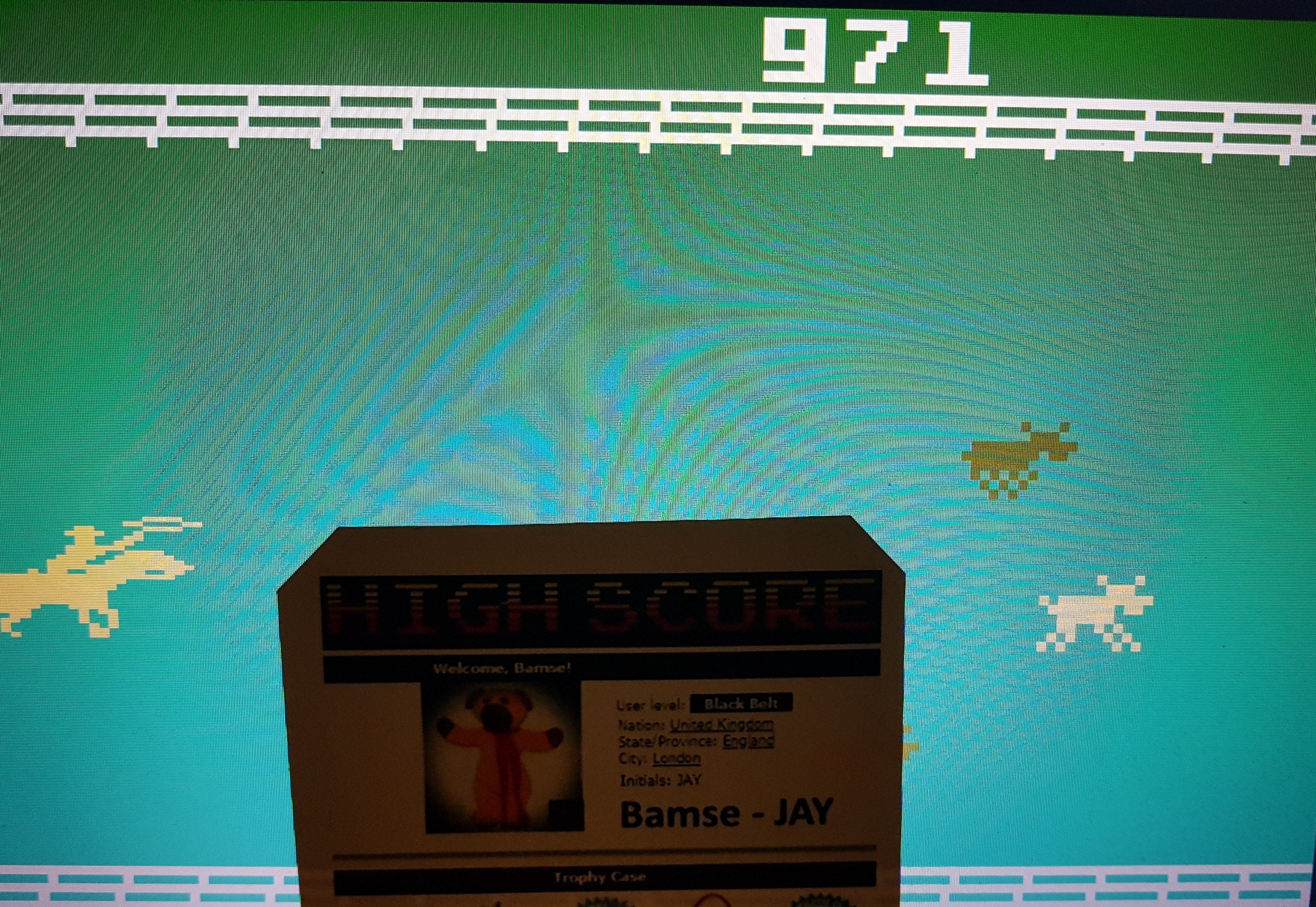 Bamse: Stampede: Select 4 (Intellivision Emulated) 971 points on 2019-09-12 04:11:42