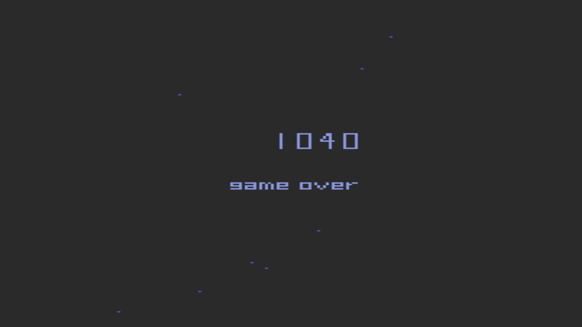 Star Castle Arcade 1,040 points