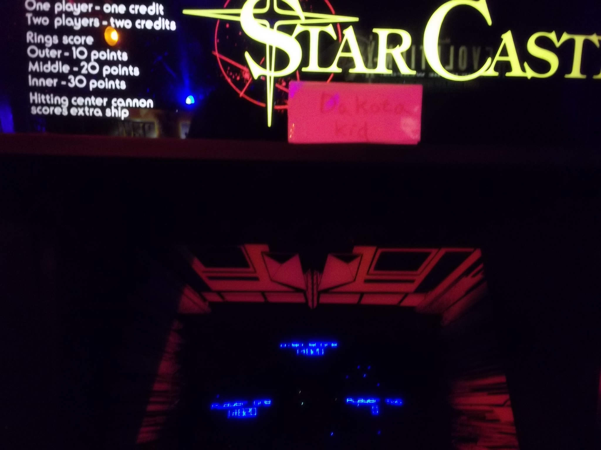 Star Castle 14,820 points
