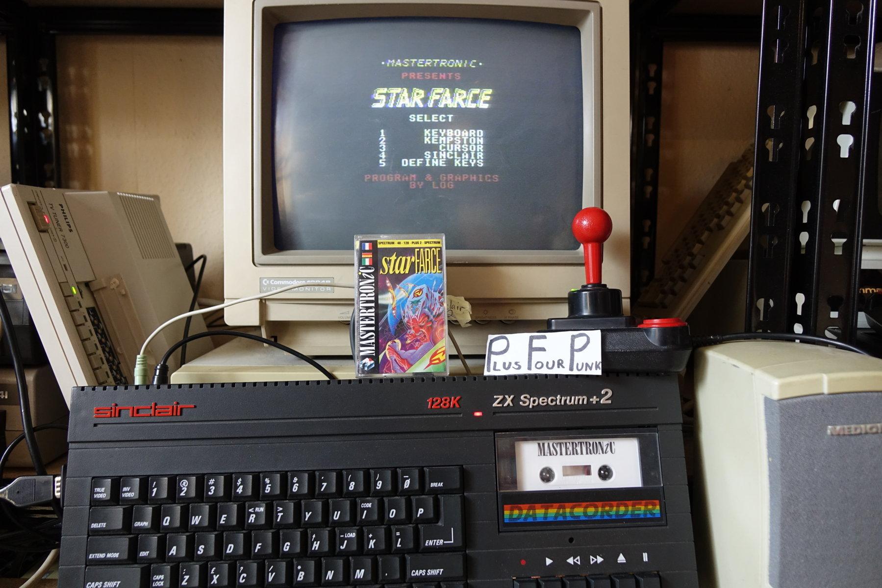 plus4punk: Star Farce (ZX Spectrum) 13,750 points on 2020-03-04 09:41:02