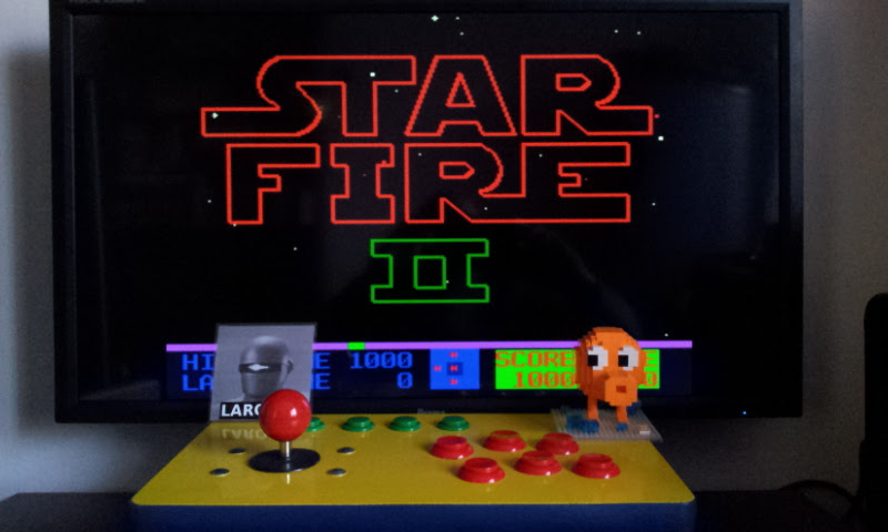Larquey: Star Fire 2 [starfir2] (Arcade Emulated / M.A.M.E.) 1,000 points on 2017-05-13 12:18:19