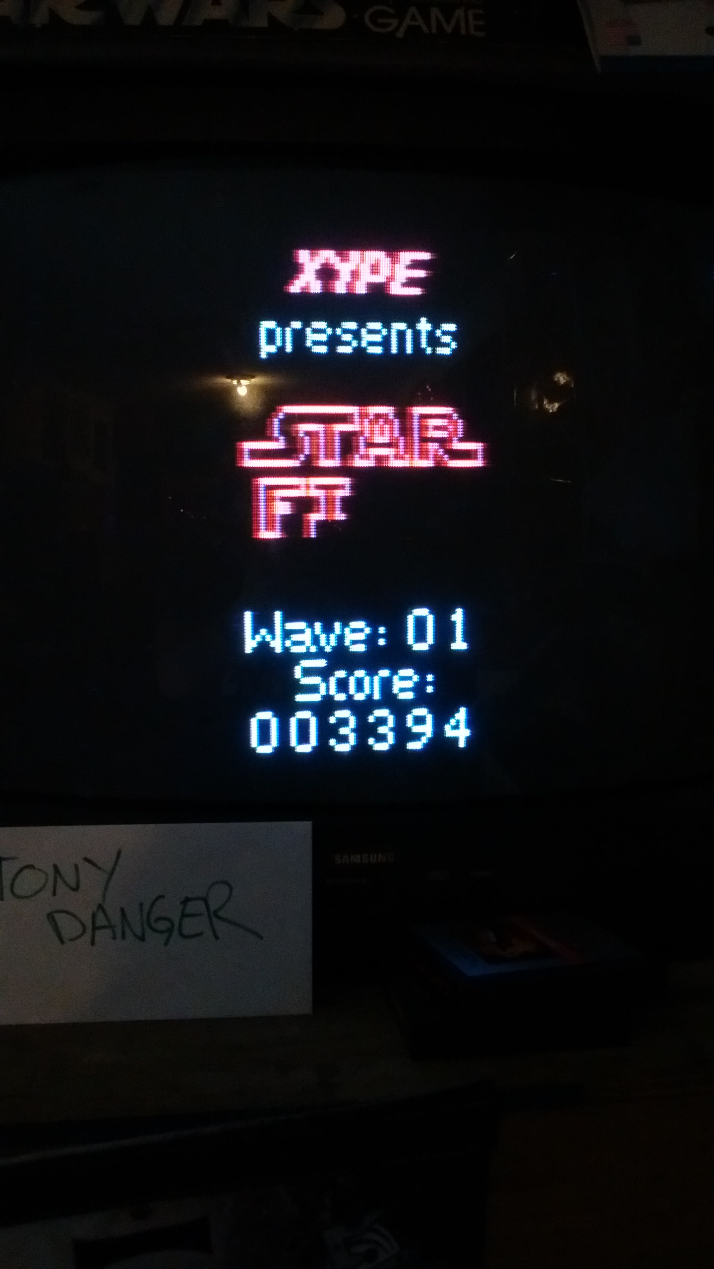 TonyDanger: Star Fire (Atari 2600 Expert/A) 3,394 points on 2016-11-13 17:14:48
