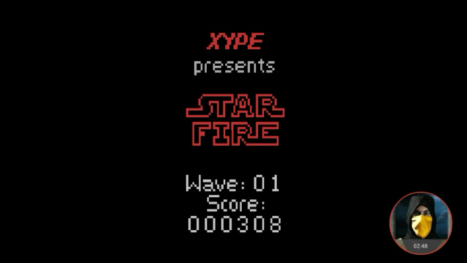 omargeddon: Star Fire (Atari 2600 Emulated Novice/B Mode) 308 points on 2018-02-15 15:41:28