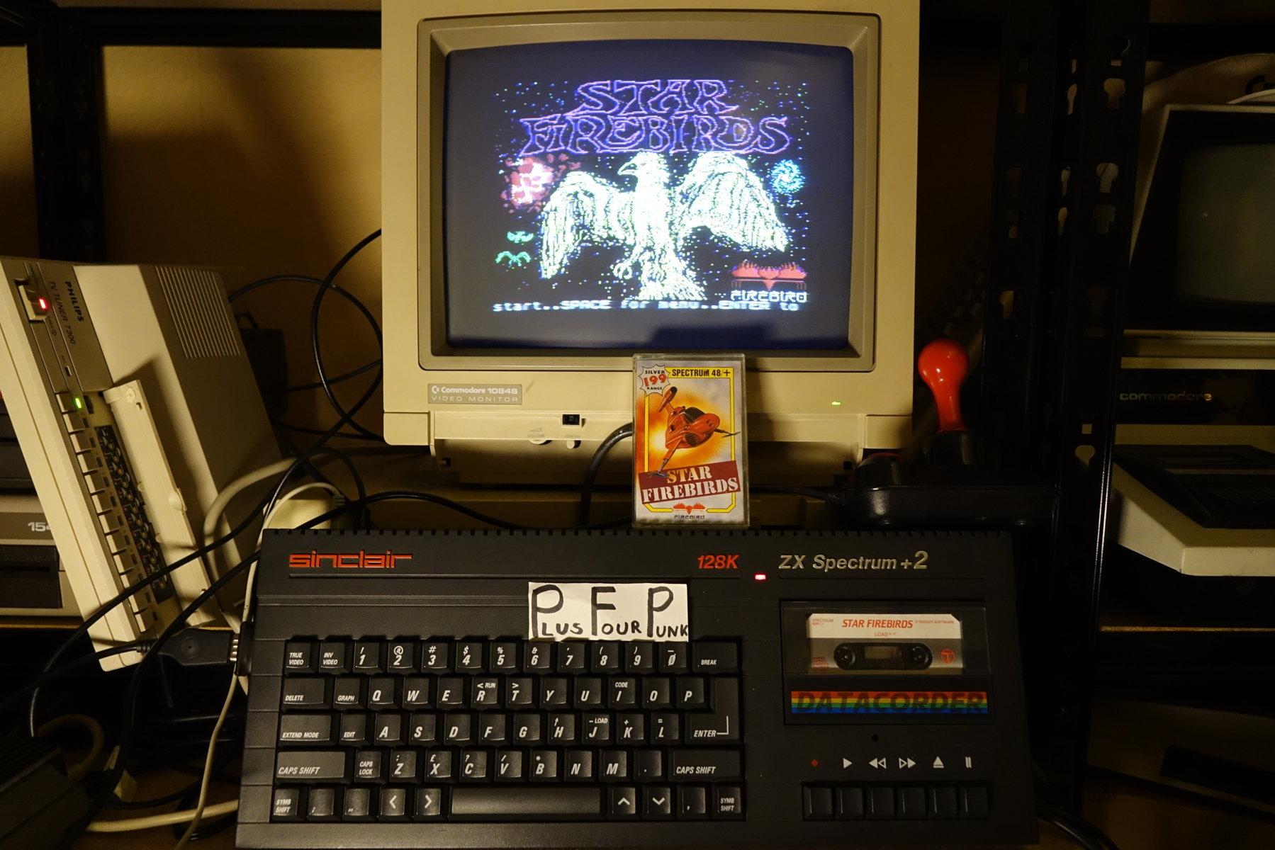 plus4punk: Star Firebirds [Hard] (ZX Spectrum) 3,260 points on 2020-03-27 07:22:30
