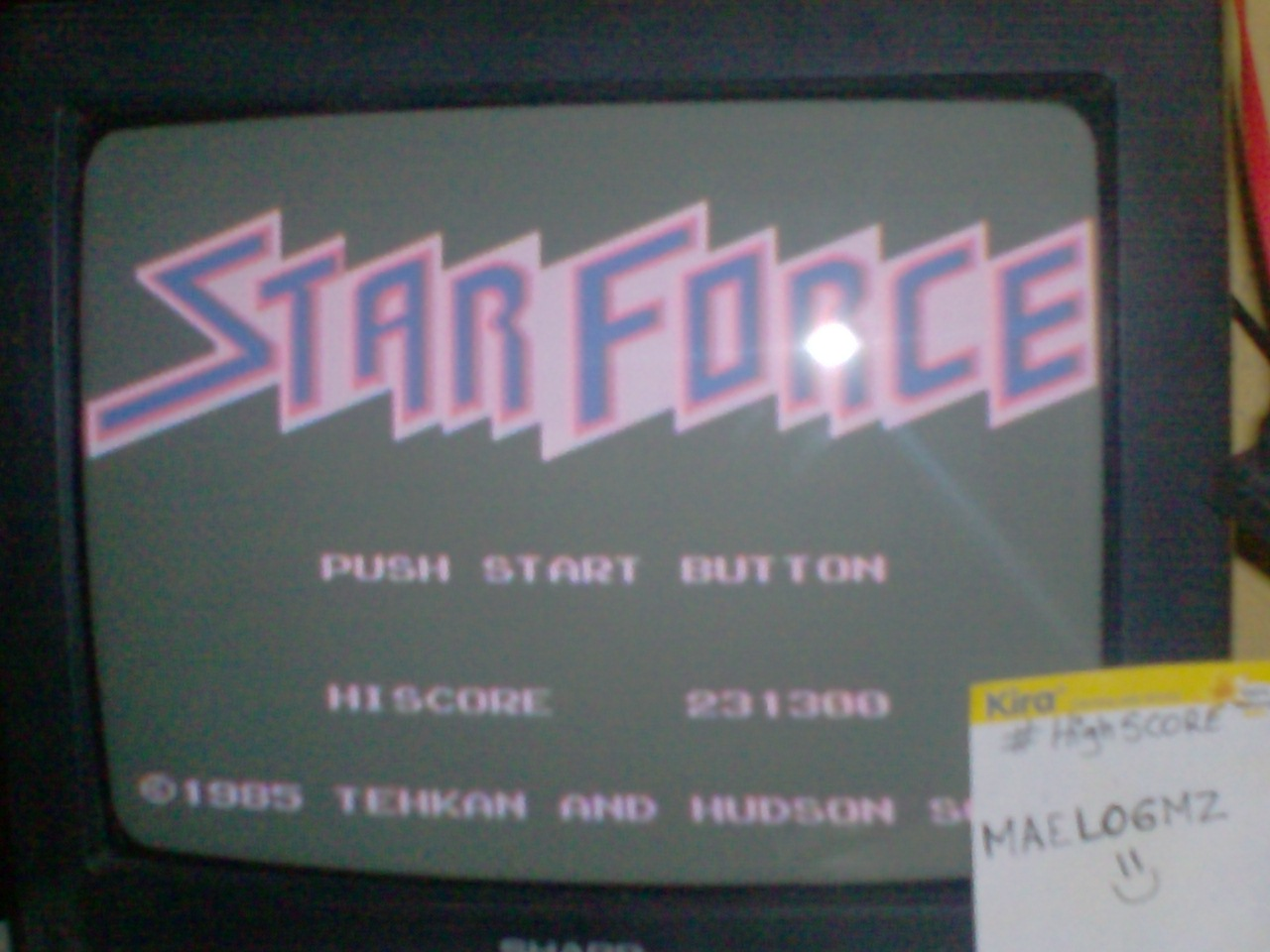 Star Force [Famicom Version] 231,300 points
