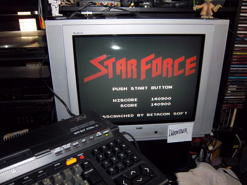 Star Force 140,900 points