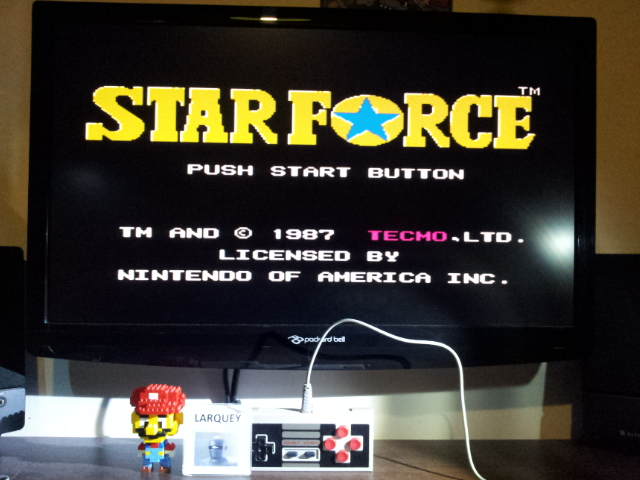 Star Force [NES Version] 130,100 points