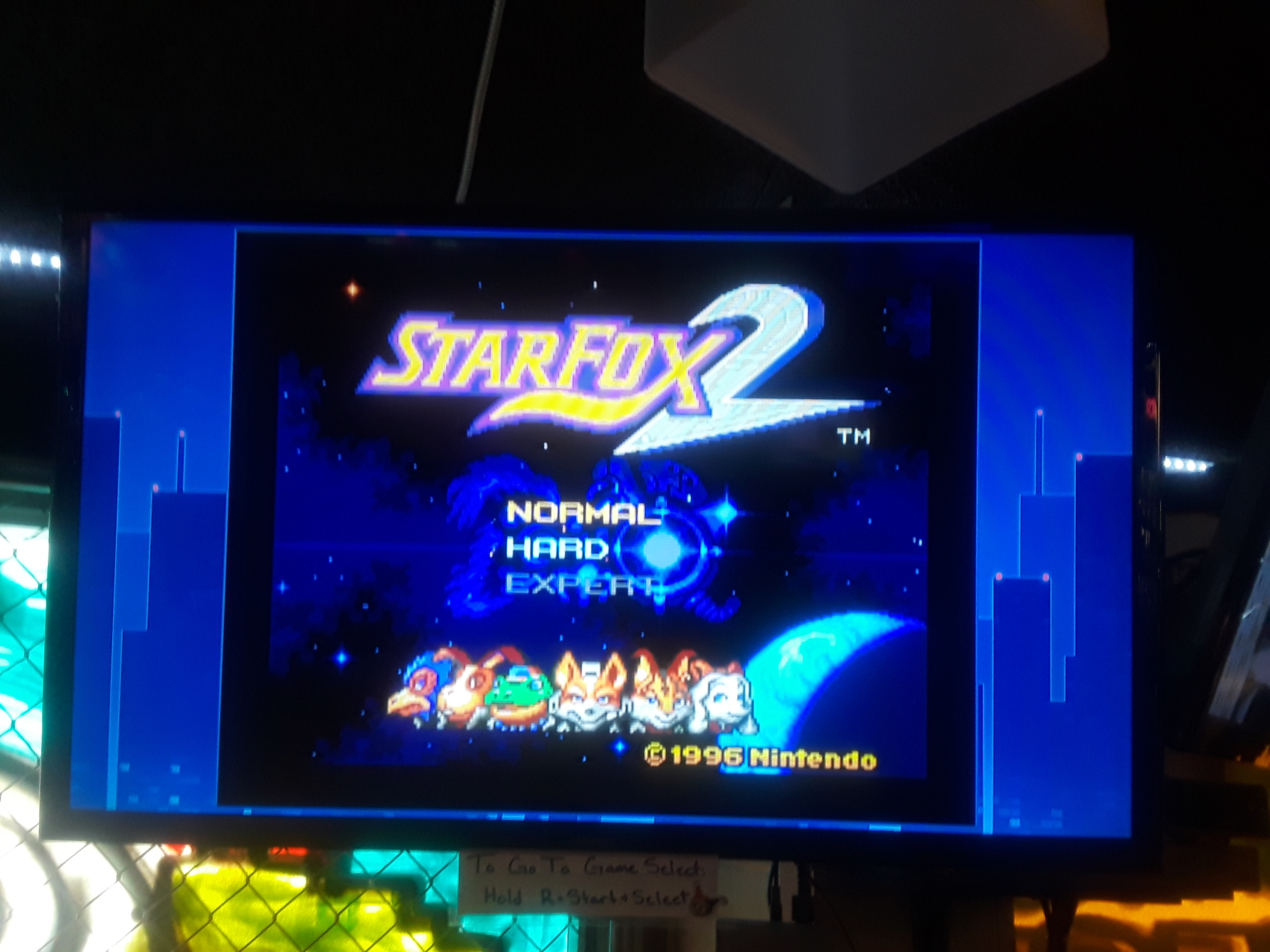 Star Fox 2 [2017] 400 points