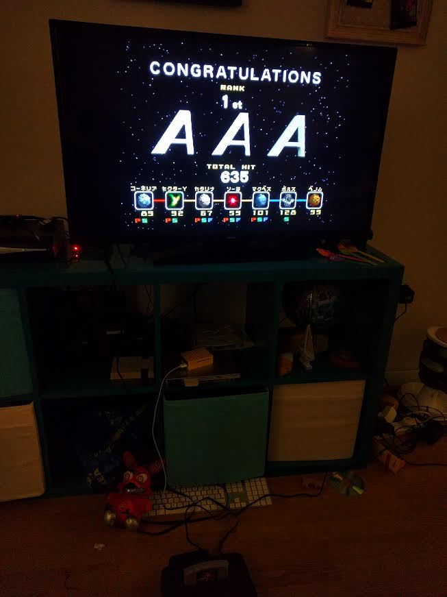 Star Fox 64 [Total Hits] 635 points
