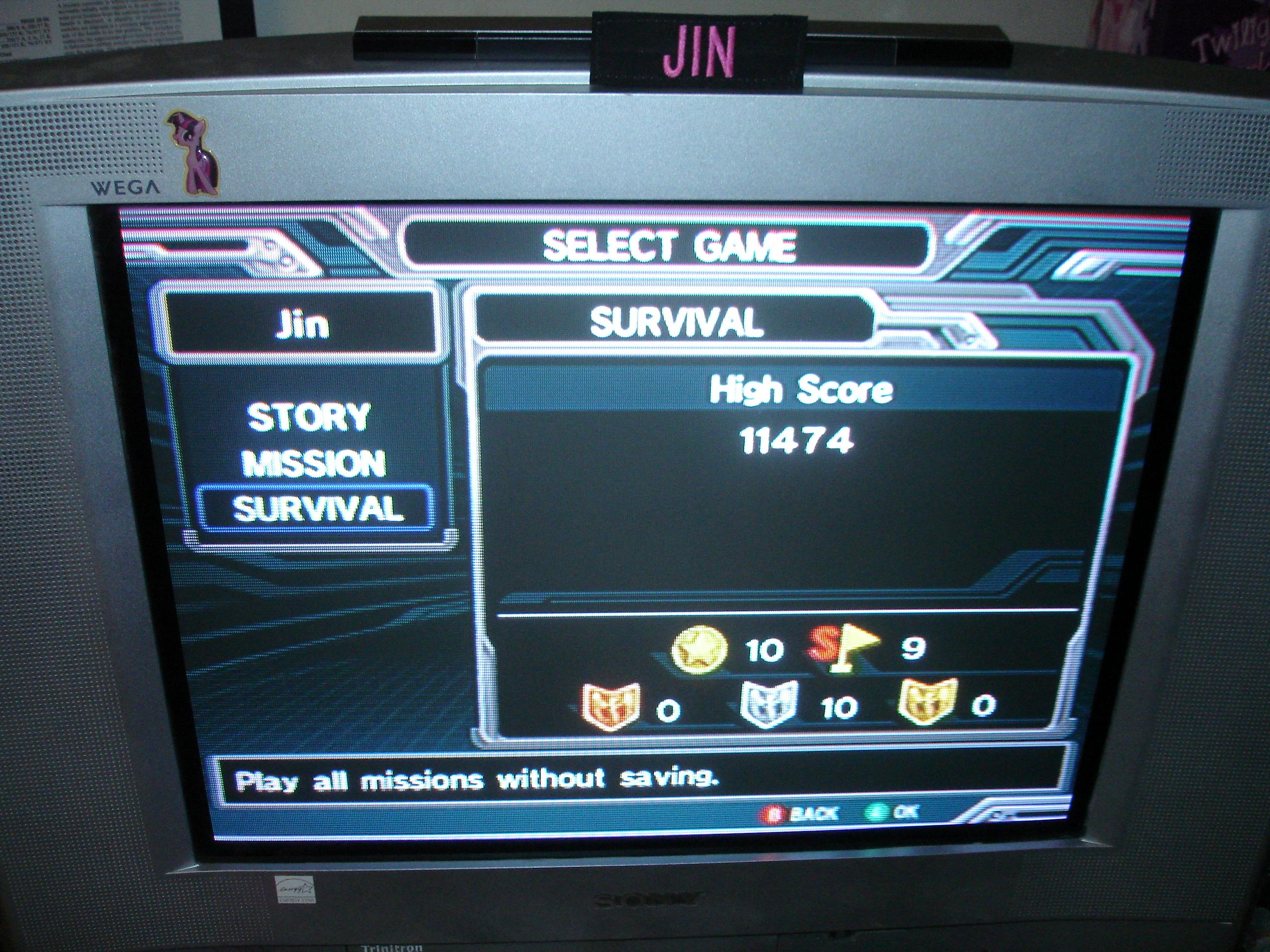 Star Fox Assault [Silver Survival Mode] 11,474 points