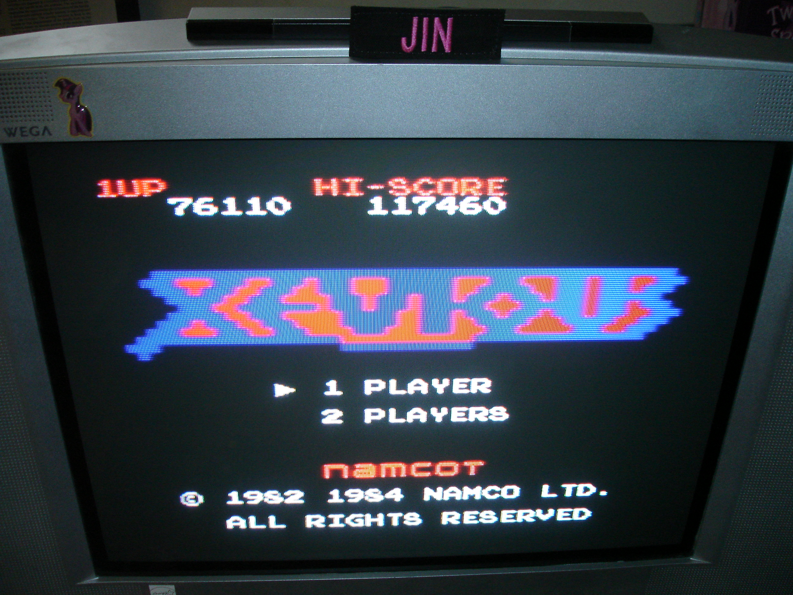 Jin: Star Fox Assault: Xevious (GameCube) 117,460 points on 2018-02-09 13:28:12