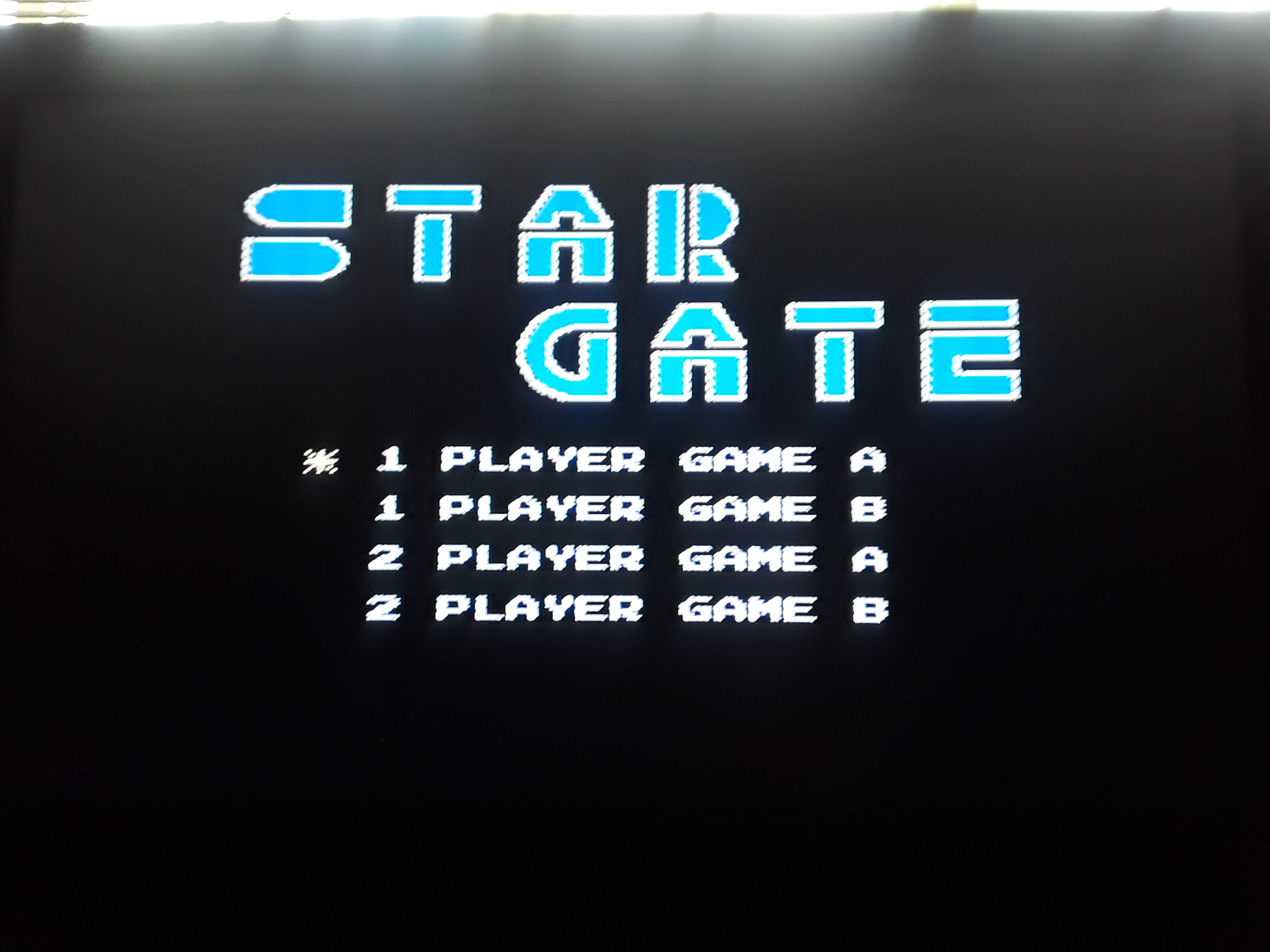 Star Gate [Game A] 11,400 points