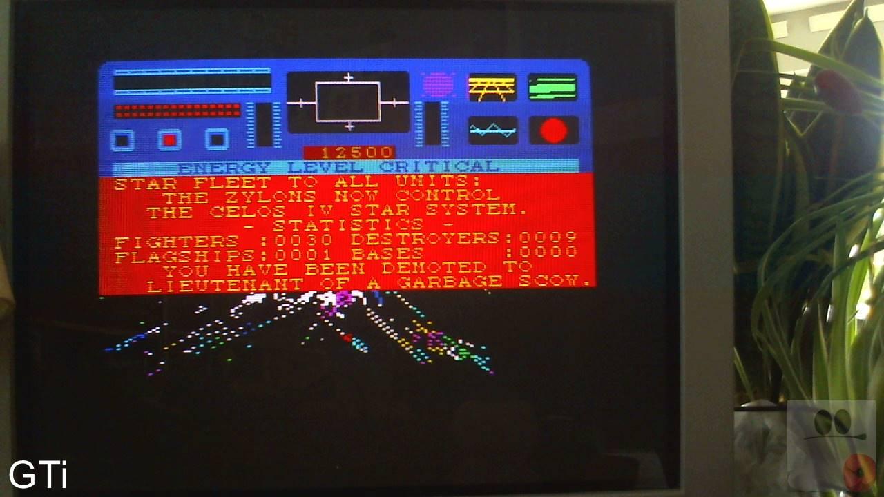 GTibel: Star Raiders II (ZX Spectrum) 12,500 points on 2020-10-14 06:02:13