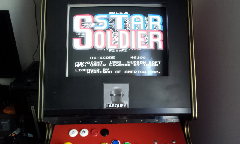 Larquey: Star Soldier (NES/Famicom Emulated) 46,100 points on 2018-02-19 04:26:39