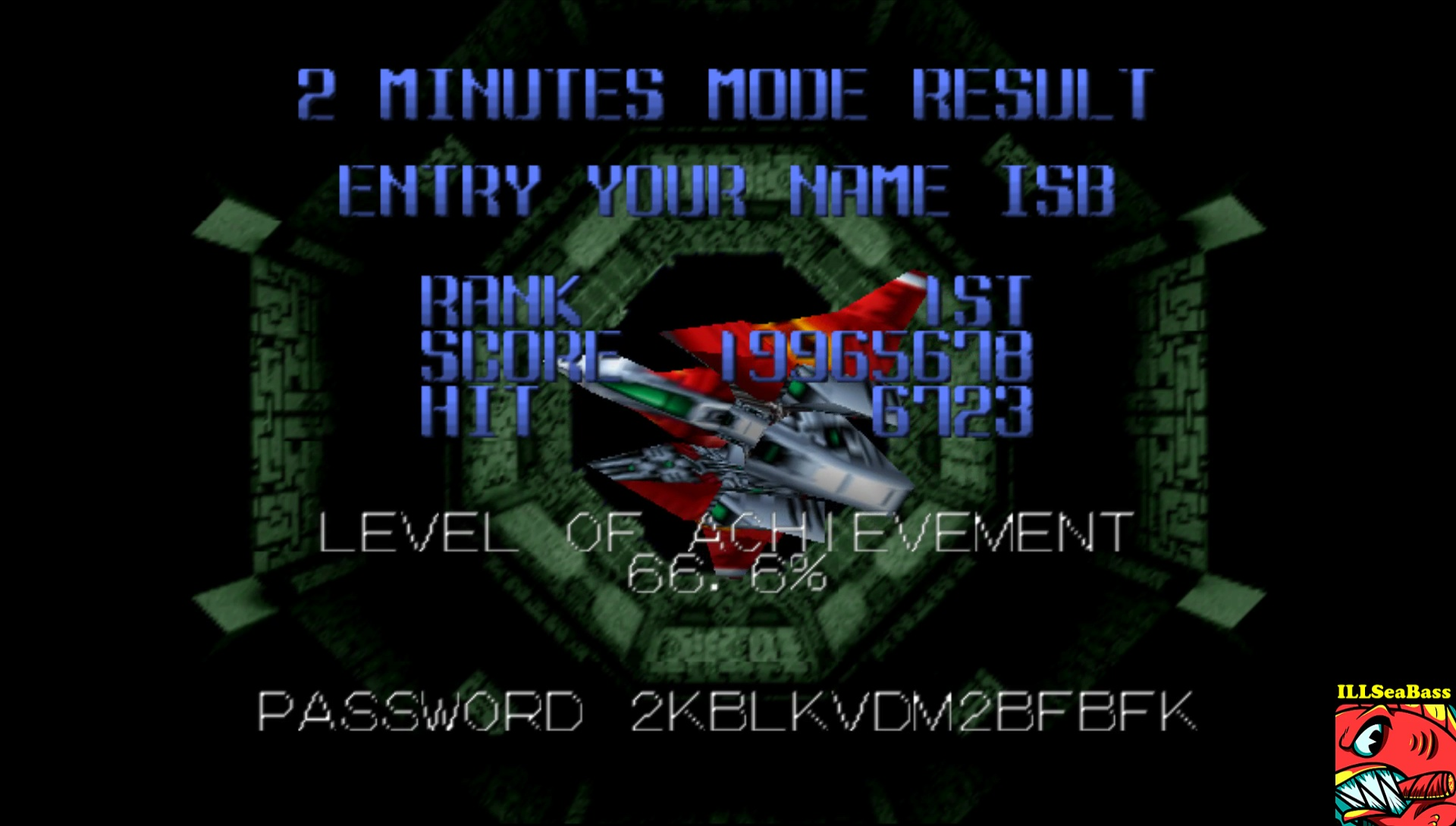 Star Soldier Vanishing Earth: 2 Minutes Mode [Master] 19,965,678 points