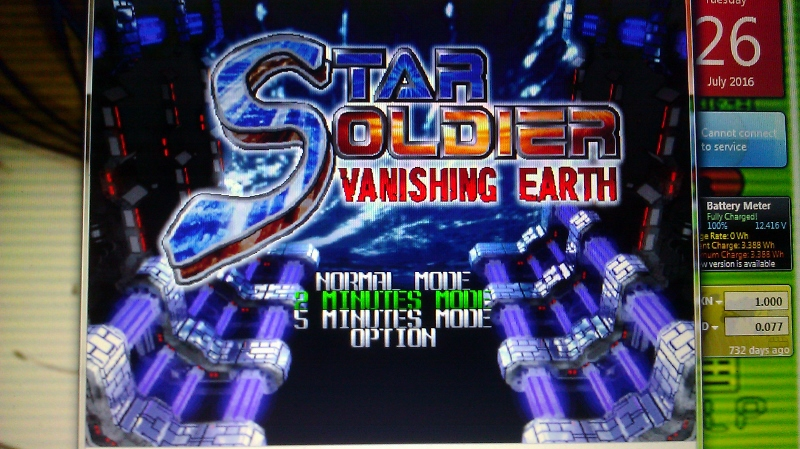 ichigokurosaki1991: Star Soldier Vanishing Earth: 2 Minutes Mode [Regular] (N64 Emulated) 14,557,218 points on 2016-07-26 23:21:22