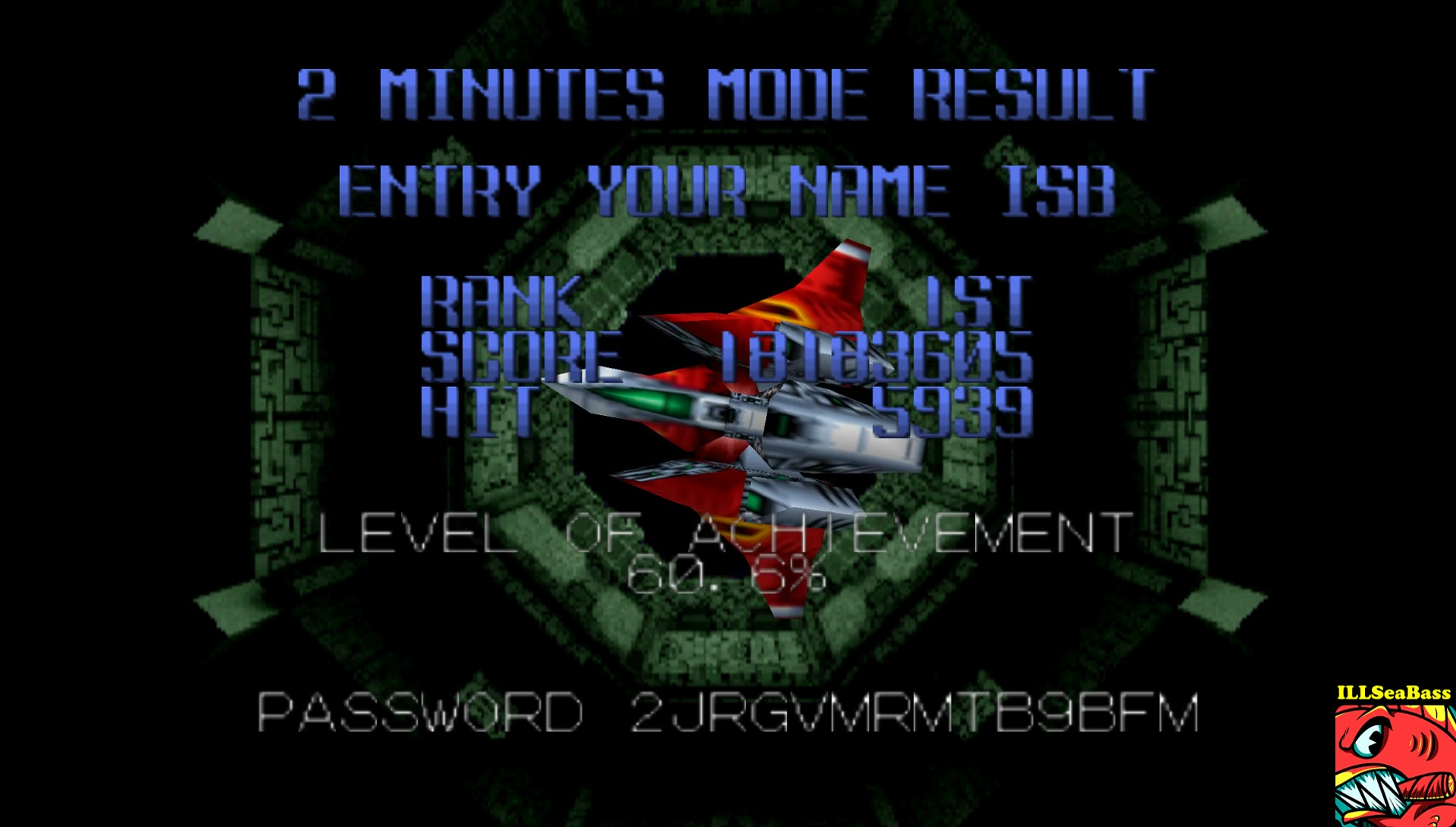 Star Soldier Vanishing Earth: 2 Minutes Mode [Regular] 18,183,605 points