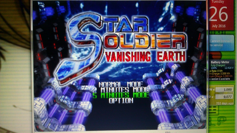 ichigokurosaki1991: Star Soldier Vanishing Earth: 5 Minutes Mode [Regular] (N64 Emulated) 106,114,193 points on 2016-07-26 23:21:33