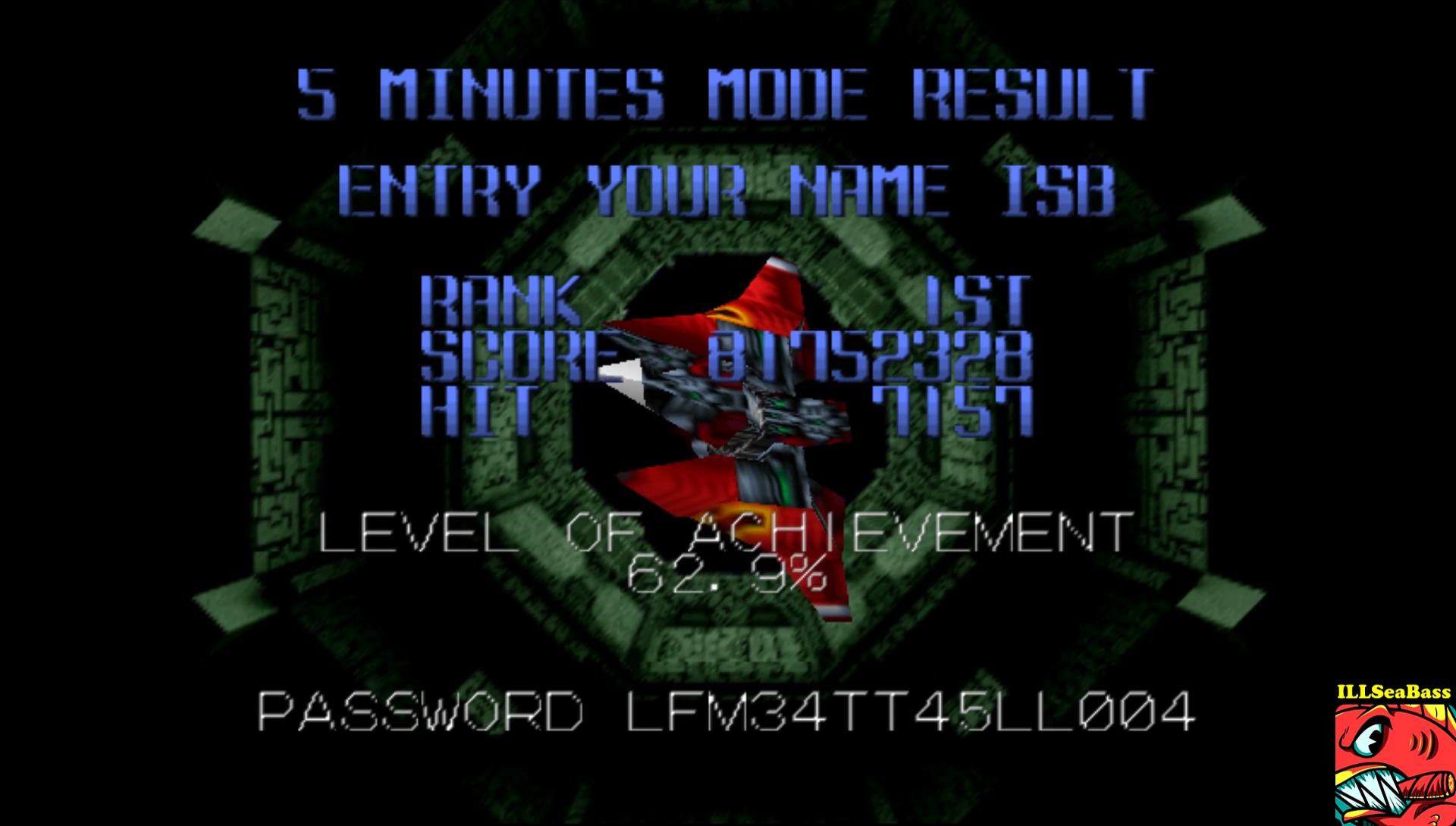 ILLSeaBass: Star Soldier Vanishing Earth: 5 Minutes Mode [Regular] (N64 Emulated) 81,752,328 points on 2017-04-13 20:23:40