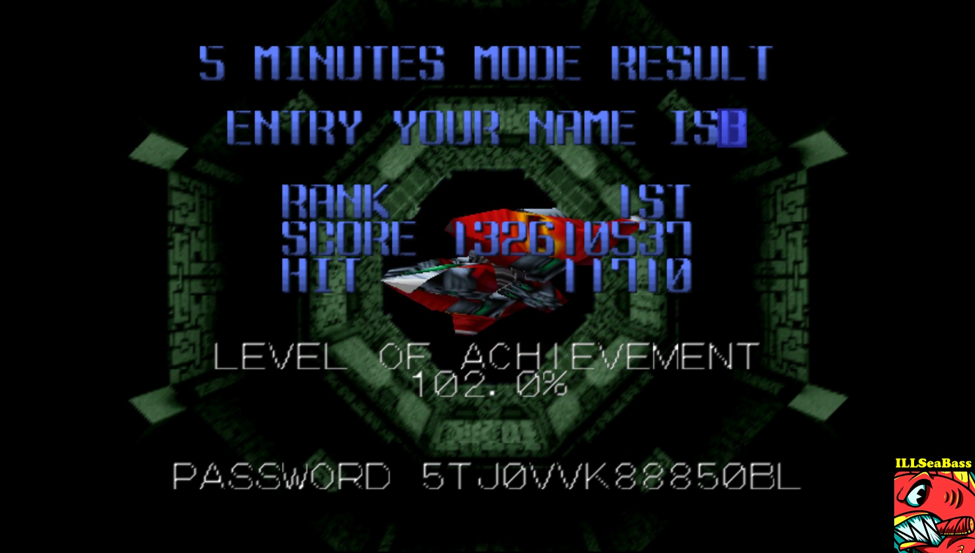 ILLSeaBass: Star Soldier Vanishing Earth: 5 Minutes Mode [Regular] (N64 Emulated) 132,610,537 points on 2017-06-05 12:10:51