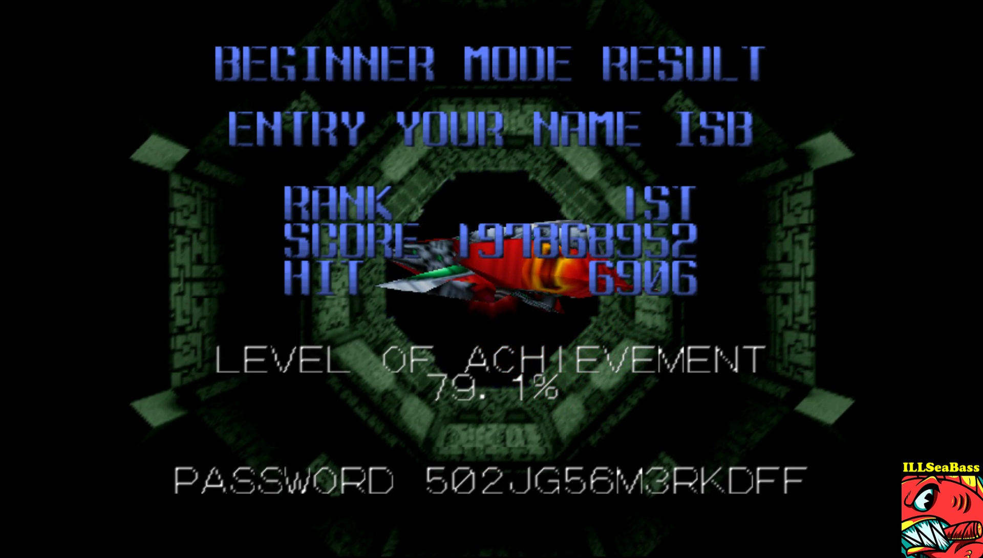 ILLSeaBass: Star Soldier Vanishing Earth: Normal Mode [Beginner] (N64 Emulated) 197,868,952 points on 2017-06-05 20:24:15