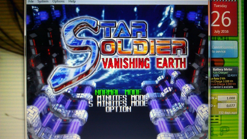 ichigokurosaki1991: Star Soldier Vanishing Earth: Normal Mode [Regular] (N64 Emulated) 84,173,657 points on 2016-07-27 00:08:37