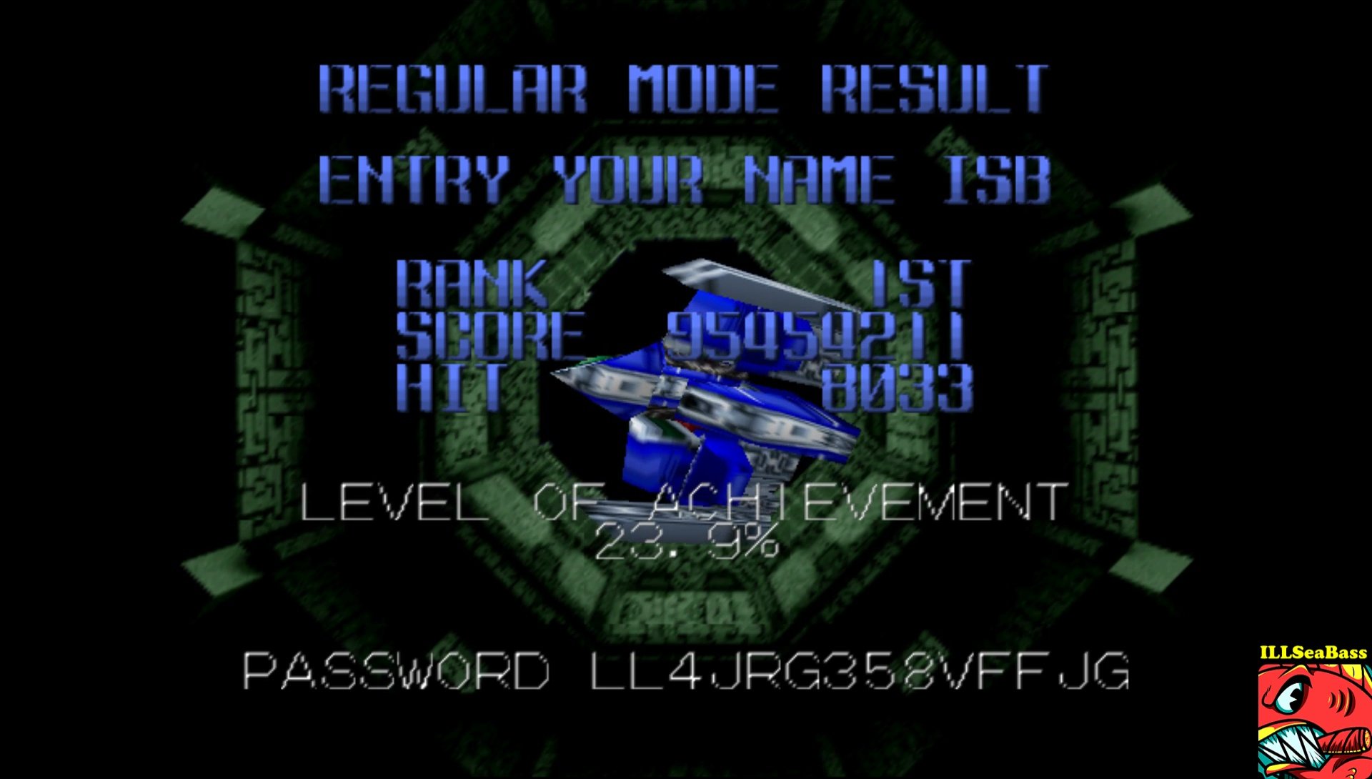 ILLSeaBass: Star Soldier Vanishing Earth: Normal Mode [Regular] (N64 Emulated) 95,454,211 points on 2017-06-11 22:25:17