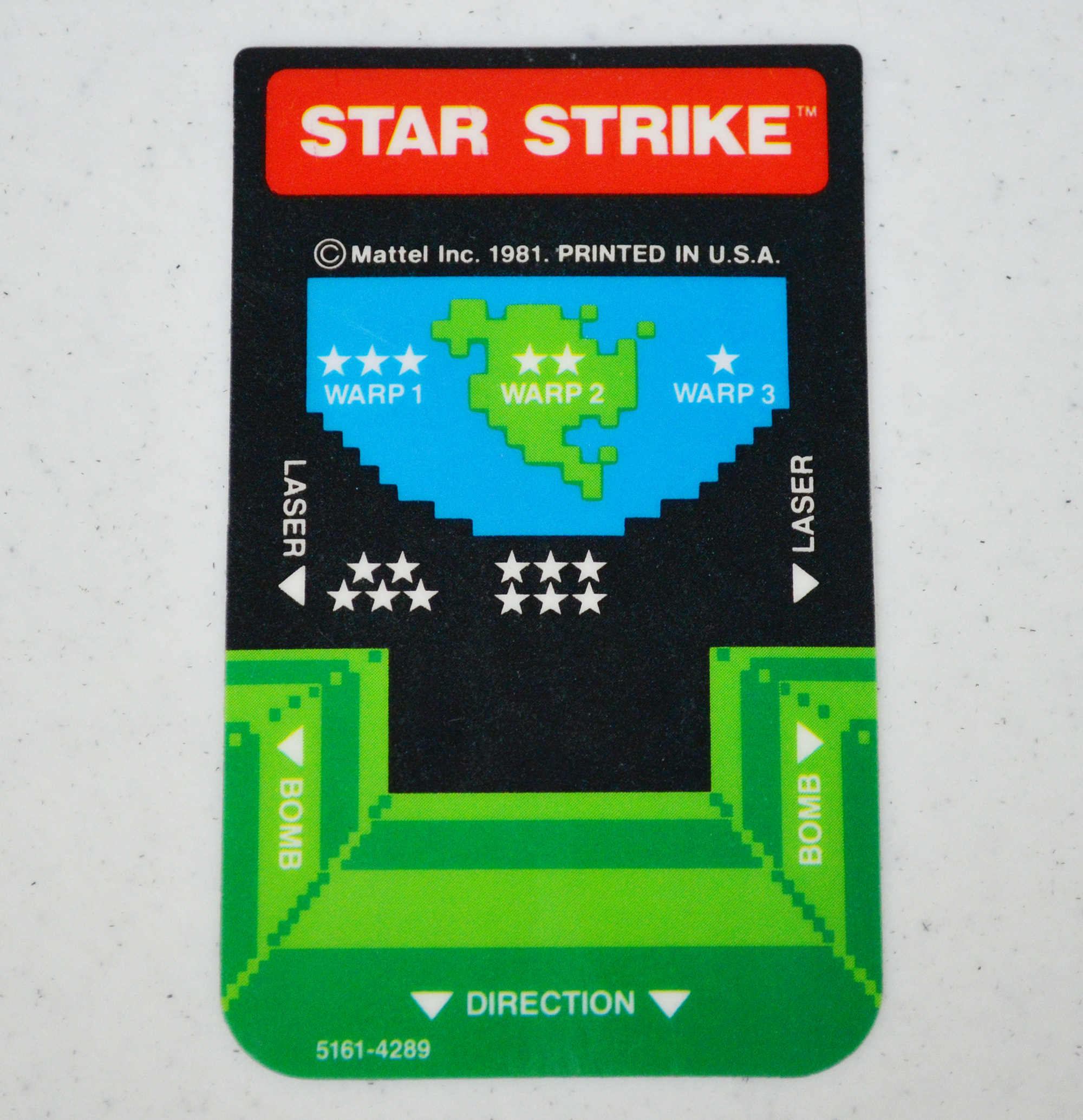 Rickster8: Star Strike: Level 3 [Button 1] (Intellivision Emulated) 7,350 points on 2020-09-21 19:45:32