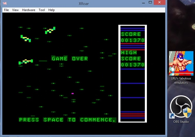 LuigiRuffolo: Star Swoop (Dragon 32/64 Emulated) 1,370 points on 2021-02-26 11:39:37